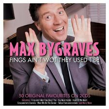 Max Bygraves Fings Ain't Wot they Used To Be 50 Original Favourites on 2 CDs