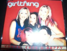 Girl Thing Young Free & Happy rare Australian Promo CD Single – Like New