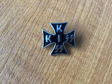 More details for kiss iron cross pin badge simmons stanley