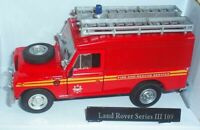 LAND ROVER, SERIES 3, MODEL, CAR, FIRE ENGINE, RESCUE, SERVICE, 1:43, SCALE, CAR
