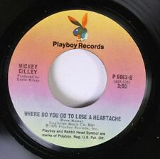 Rock 45 Mickey Gilley - Where Do You Go To Lose A Heartache / Don'T The Girls Al