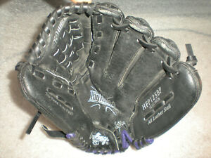"Rawlings HFP125BP Highlight Series Purple 12.5"" Baseball Glove Mitt Right Handed"