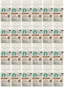 24 Pack Starbucks Golden Turmeric Medium Roast Ground Coffee 9 Oz Each BBD 8/20