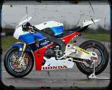 Equipo Honda TT Legends 4 A4 Foto Impresión moto antigua añejada De