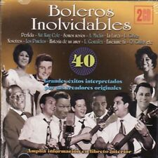 Boleros Inolvidables - Grandes Exitos Interpretados Por Su Crea. - 2Cds [CD]