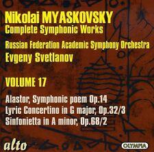 Evgeny Svetlanov - Alastor Sym Poem / Lyric Concertino / Sinfonietta [New CD]