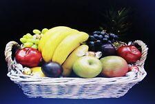 Custom Artificial or Live Fruit Baskets Oranges Bananas Grapes Sympathy New Home