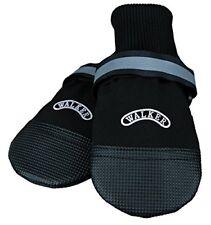 Vêtements et chaussures noires unisexes pour chien en 100% coton