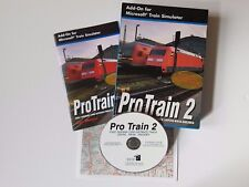 Pro Train 2 Add-On Expansion For Microsoft Train Simulator MSTS in VGC FREE P&P