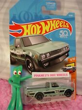 DATSUN 620 pick up truck #9 USA 50✰Green; 73✰HOT TRUCKS✰2018 Hot Wheels Case B
