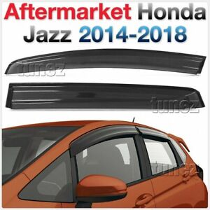 Window Door Visor Weathershield Weather Shield For Honda Jazz Fit GK5 2015 Car 2