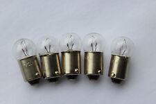 Pack 5 x BA9S 12v 150mA 1.8w 2.0w instrument bulbs D11mm L23mm