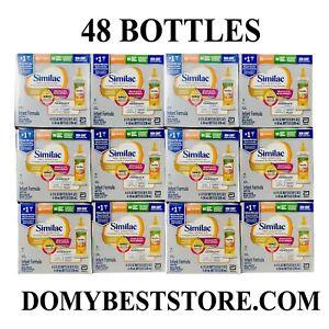 Similac Pro Sensitive HMO Infant Formula 2 oz ready to feed 48 bottles EXP12/21
