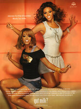 Beyonce Knowles, Solange Knowles GOT MILK advertisement, clippings