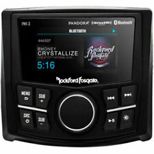"Rockford Fosgate PMX-3 Punch Marine Compact Digital Media Receiver 2.7"" Display"