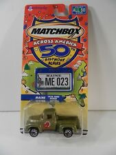Matchbox Across America  MAINE 1956 Ford Pickup Truck Northeastern Collection