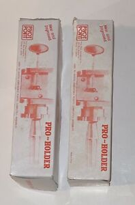 Pivot Point Mannequin Head Wig Pro Holder Salon Stand Table Clamp Set of 2 New