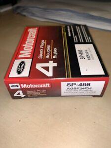 4 x Genuine Motorcraft SP498 AGSF24FM Spark Plug fits Ford Land Rover Mercury