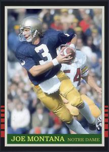 Custom Cards Notre Dame Fighting Irish Football Legends 6 Card Lot #7