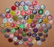 Vintage soda pop bottle caps Lot of 500 ALL UNUSED ORIGINALS over 75 different