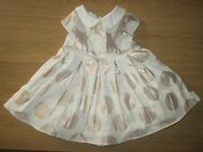 Jasper Conran Girls Pretty Party Dress - 0-3 Months
