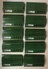 Lot of 100 Kingston 1GB DDR3 PC3-10600U DDR3 240 Pin Desktop RAM Memory