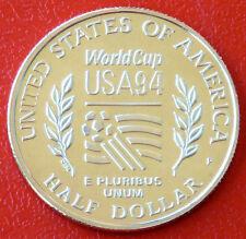Polierte Platte Fußball Münzen aus den USA