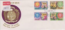 (Ica105) 1979 Nauru Fdc 4set peace on earth