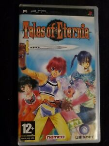 Tales of Eternia Sony PSP Authentic Complete CIB Region Free PAL Tested Works