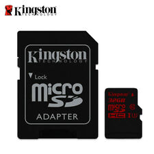 Kingston Canvas React 32Go microSDHC UHS-I U3 Carte Mémoir for 4K Caméra Vidéo