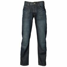 Mens Republic Button Fly Denim Whisker Jean ~ Casual Pant ~ RRP $109.95