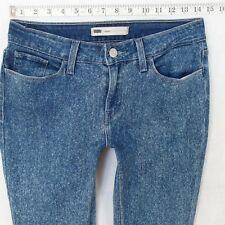 Ladies Womens Levis 11997 LEGGING Stretch Skinny Blue Jeans W29 L30 UK Size 10