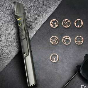 Micro Touch Titanium Trim Hair Cutting Tool Body Shaver and Groomer US