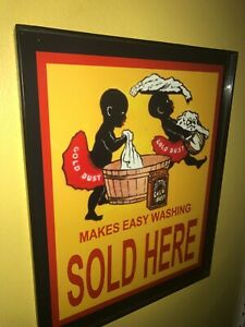 Gold Dust Soap Store Kitchen Store Advertising Sign