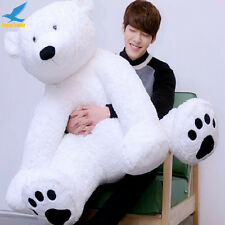 Fancytrader 49'' 125cm JUMBO Giant Stuffed Plush Polar Bear Animal Toy Girl Gift