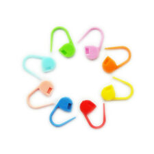 PLASTIC STITCH HOLDERS CLIPS MARKERS LOCKING CROCHET KNITTING CRAFT NEEDLE