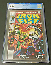 Iron Fist 15 CGC 9.6 WHITE Wolverine X-Men John Byrne Last Issue 1977 Marvel