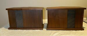 Bose 901 Series II Speakers in Walnut with Equalizer + Manual - No Reserve!