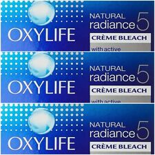 Lot of 3 Oxy Life Bleach Oxygen Power With Skin Radiance Serum 27g Each