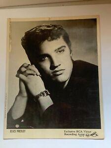 Rare Elvis moss photo rca records 8x10 estate find 1956