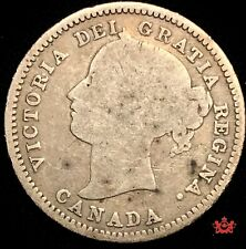 1870 Canada 10 Cents Wide - Good - Lot#1570