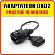 ADAPTER 19-PIN AUF OBD2 kompatibel für PORSCHE DURAMETRIC