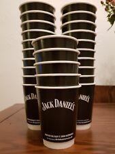 25 X Jack Daniels Paper Cups