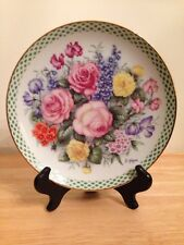 The Flowers Of England By Doug Hague Danbury Mint Collectors Plate A189