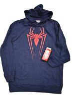 Marvel Mens Spiderman Spider-Man Lightweight Hoodie New S, M, L, XL, 2XL