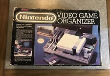CIB Vintage Official Nintendo Video Game Organizer Complete In Box *Dynasound*