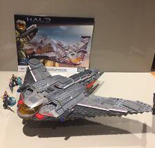 Halo Mega Bloks 96835 UNSC Shortsword 100% Complete With Instructions