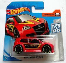 Hot Wheels Diecast Model Car Volkswagen VW Golf GTI Red MOMO Rare