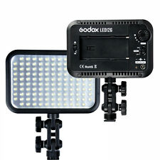 Godox LED126 Video Light Studio Lighting 2200LM 5500-6500K Stepless Brightness