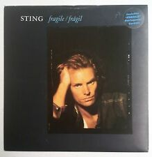 "Sting   Fragile Single 7"" España 1987 con ""sticker"" en portada"